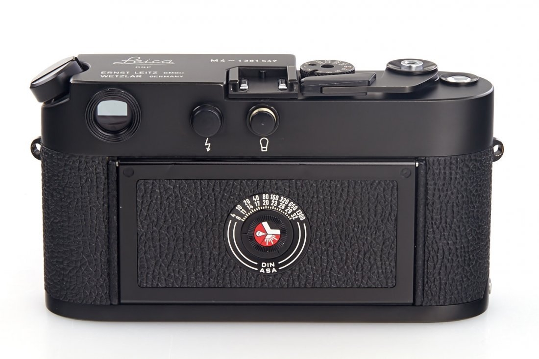 Leica M4 black Wetzlar, 1974, no. 1381547 - 4