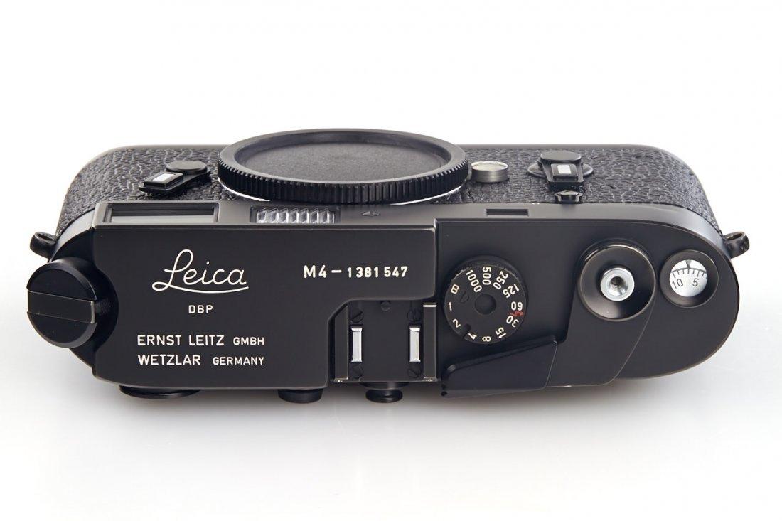 Leica M4 black Wetzlar, 1974, no. 1381547 - 5