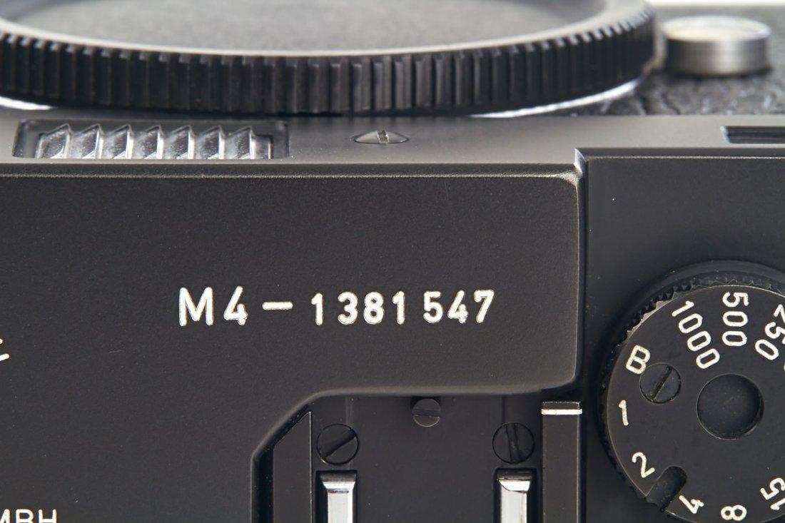 Leica M4 black Wetzlar, 1974, no. 1381547 - 6