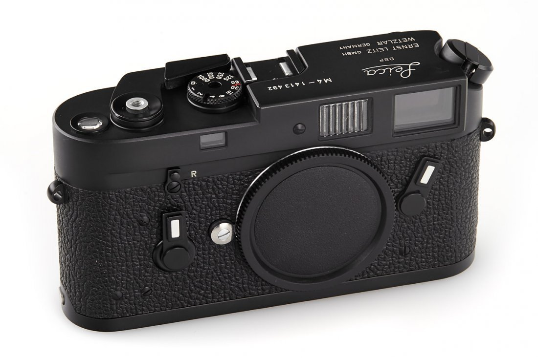 Leica M4 black Wetzlar *, 1975, no. 1413492