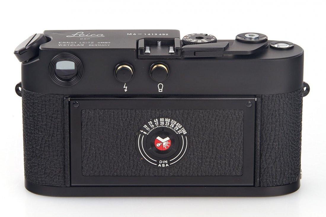 Leica M4 black Wetzlar *, 1975, no. 1413492 - 4