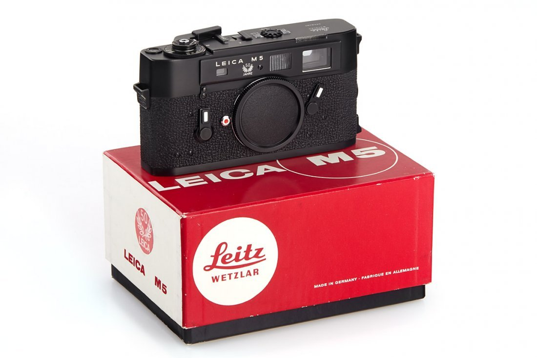 Leica M5 black '50 Years', 1975, no. 1375047