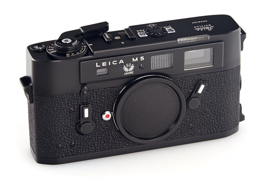 Leica M5 black '50 Years', 1975, no. 1375047 - 2
