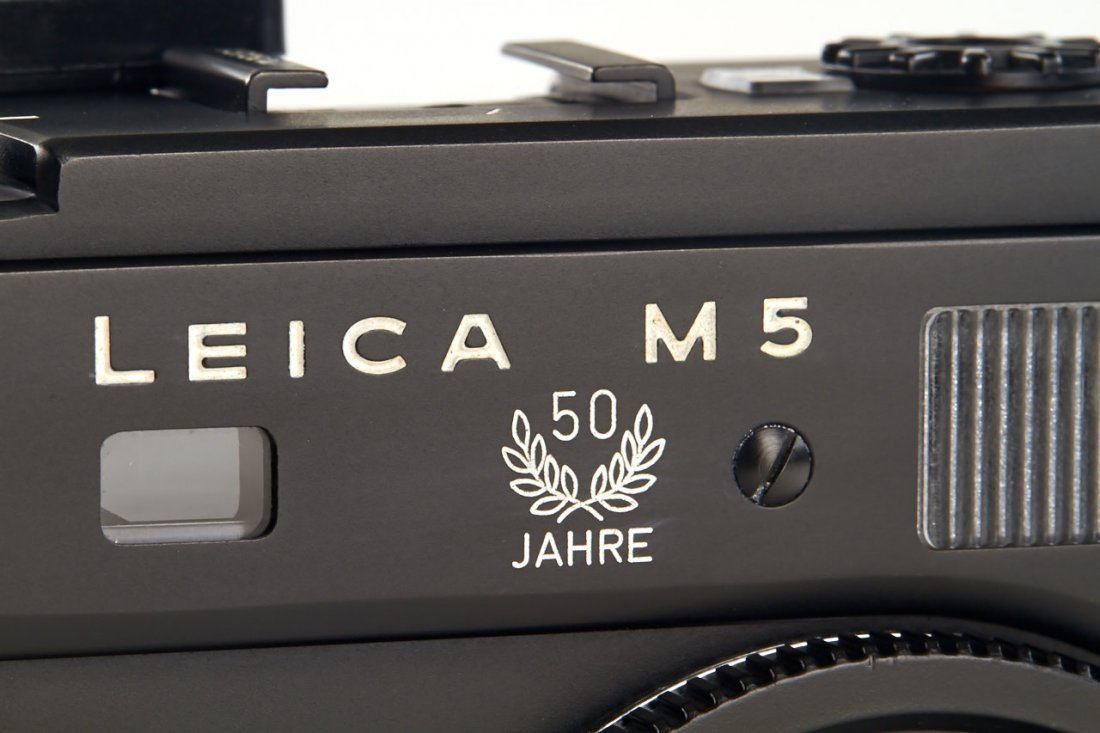 Leica M5 black '50 Years', 1975, no. 1375047 - 3