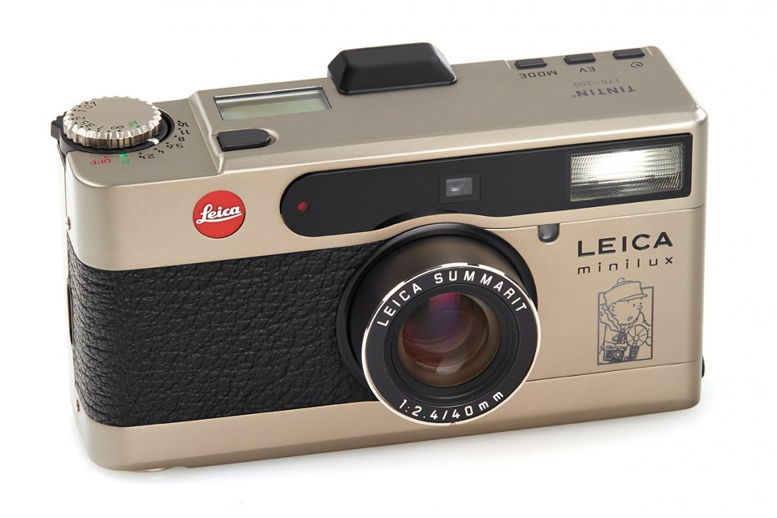 Leica Minilux 'Tintin', 1995, no. 2124761