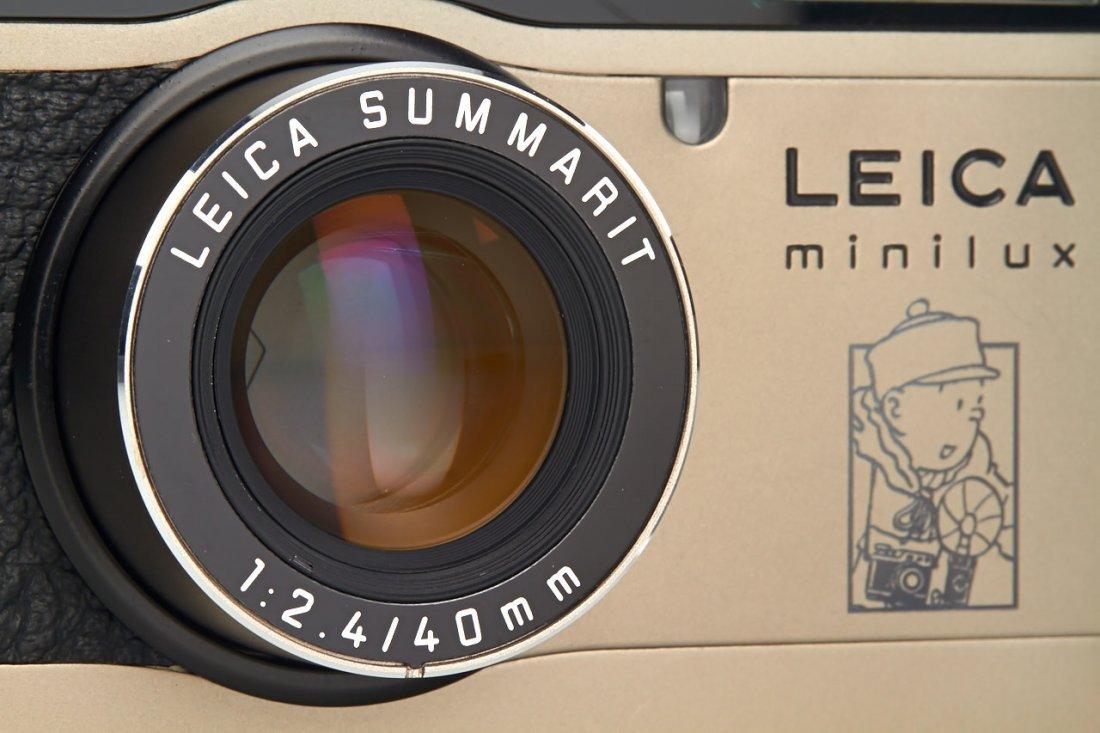 Leica Minilux 'Tintin', 1995, no. 2124761 - 2