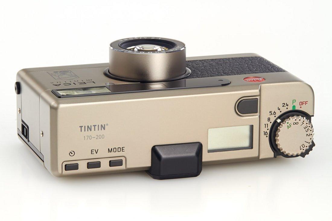 Leica Minilux 'Tintin', 1995, no. 2124761 - 4