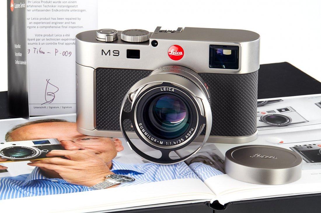 Leica M9 10715 Titan Set Prototype *, 2010, no. P-009