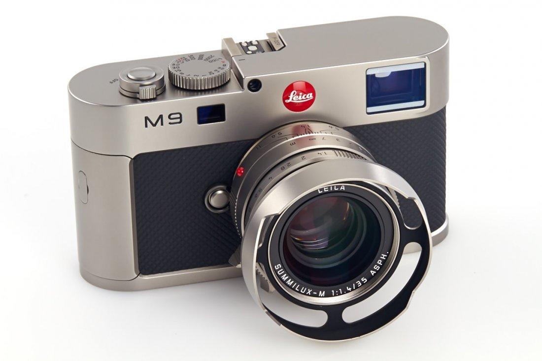Leica M9 10715 Titan Set Prototype *, 2010, no. P-009 - 2