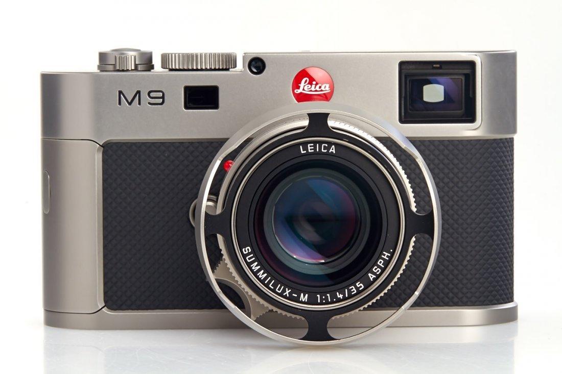 Leica M9 10715 Titan Set Prototype *, 2010, no. P-009 - 3