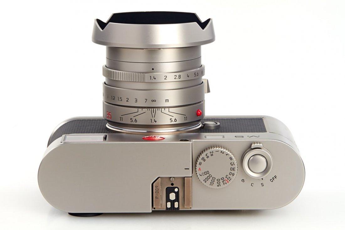 Leica M9 10715 Titan Set Prototype *, 2010, no. P-009 - 6