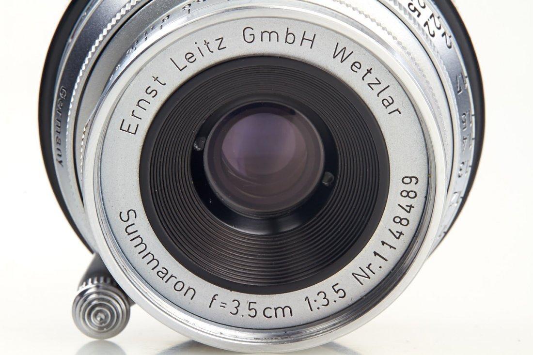 Summaron 3.5/3.5cm *, 1954, no. 1148489 - 4