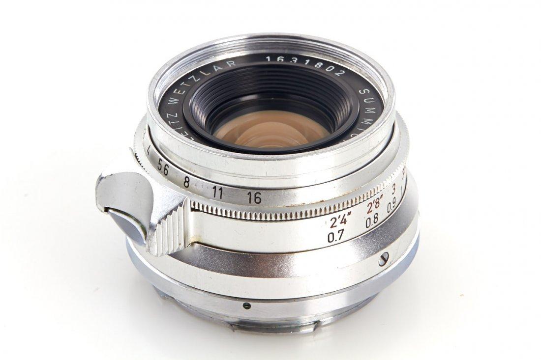 Summicron 2/35mm chrome, 1959, no. 1631802 - 3