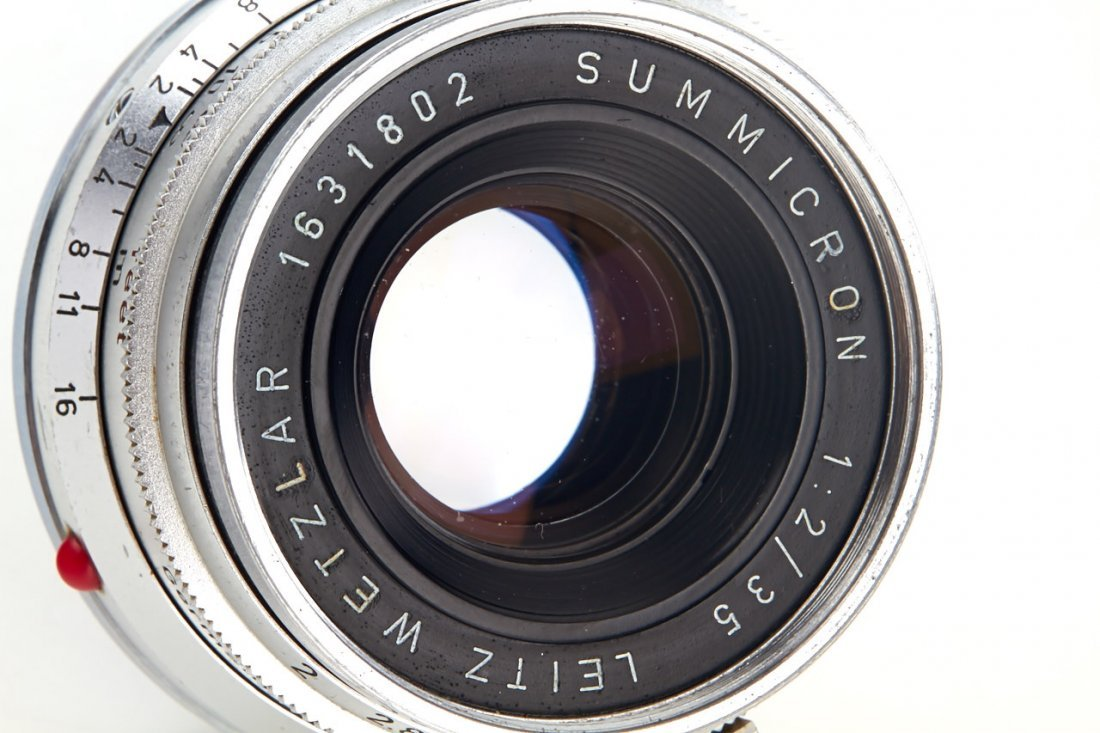 Summicron 2/35mm chrome, 1959, no. 1631802 - 4
