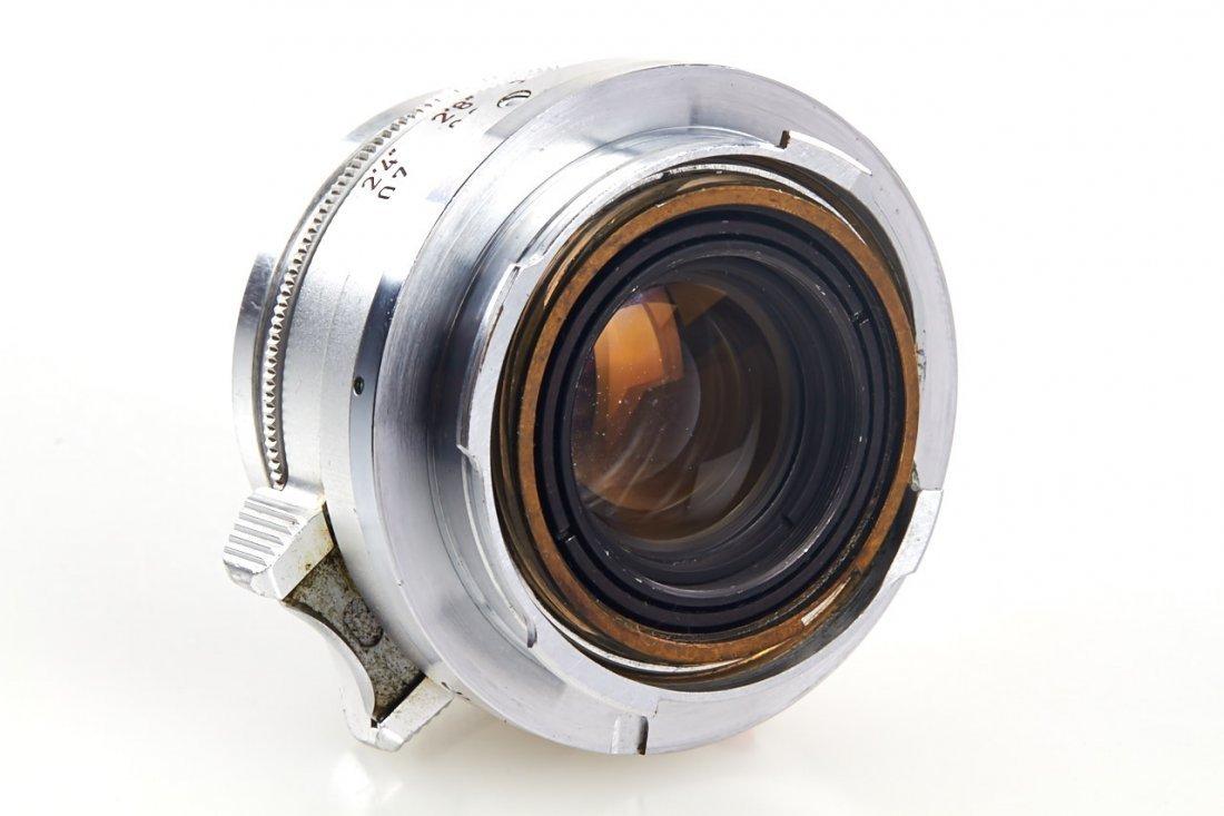 Summicron 2/35mm chrome, 1959, no. 1631802 - 5