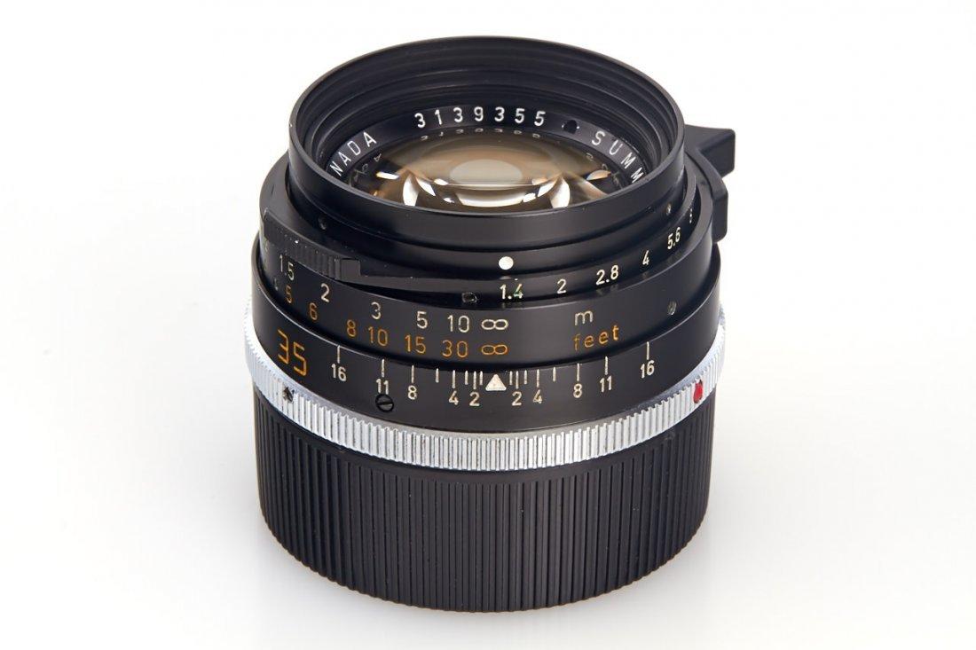 Summilux-M 1.4/35mm 11870 '70 Years', 1983, no. 3139355 - 3