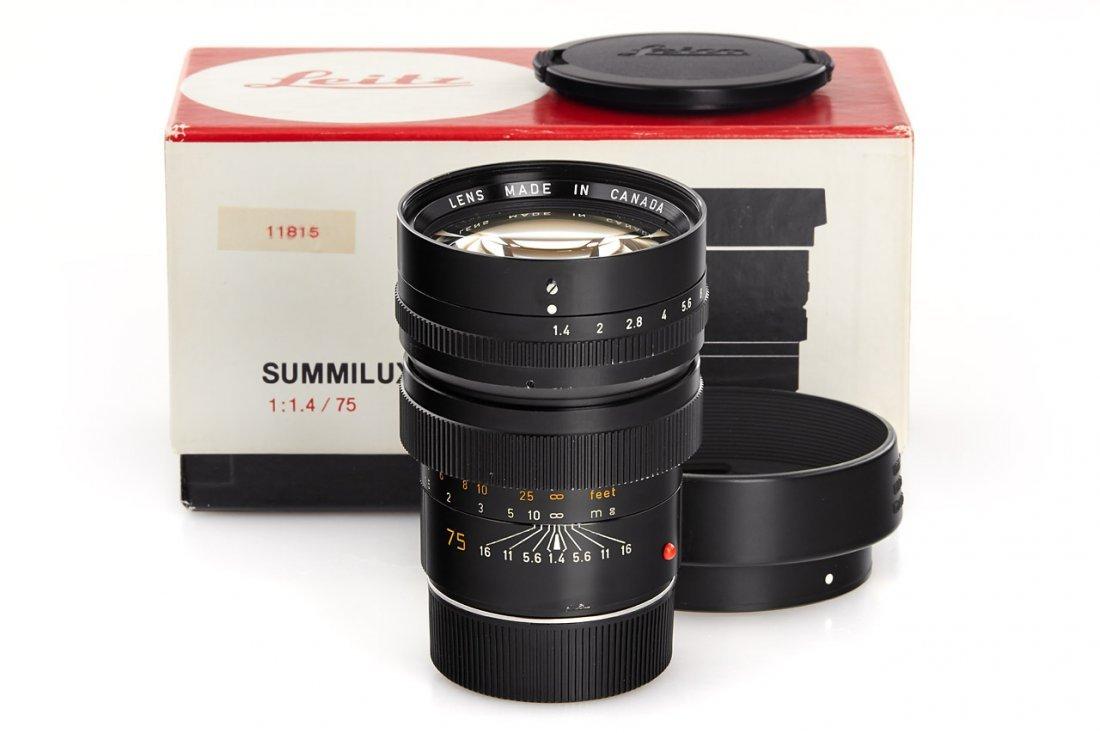 Summilux-M 1.4/75mm 11814, 1980, no. 3063722