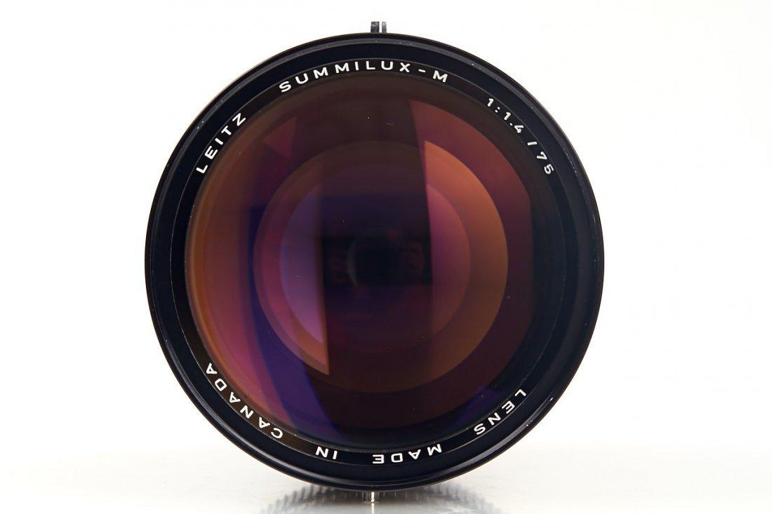 Summilux-M 1.4/75mm 11814, 1980, no. 3063722 - 4