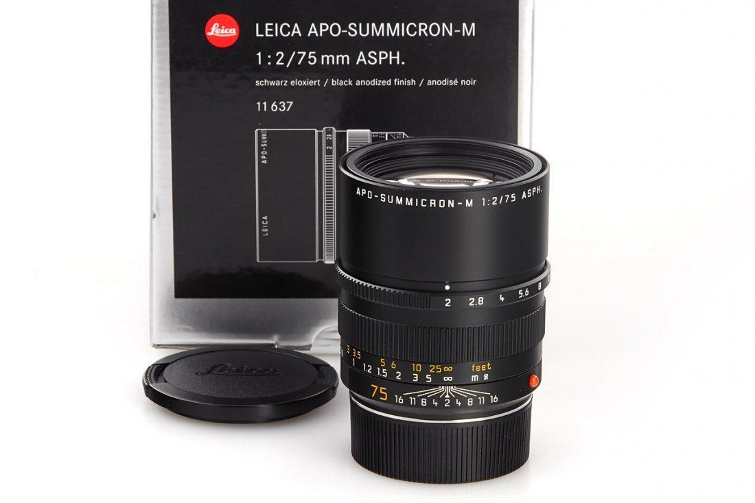Apo-Summicron-M 2/75mm ASPH. 11637, 2004, no. 3986706