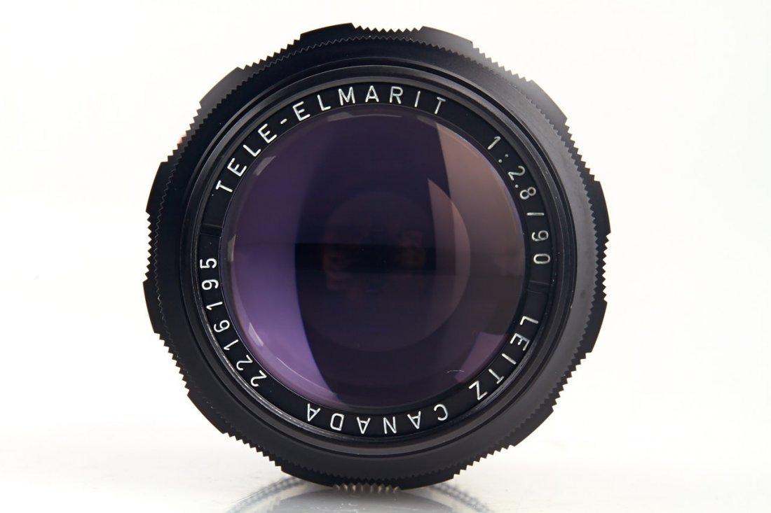 Tele-Elmarit 2.8/90mm black, 1966, no. 2216195 - 3