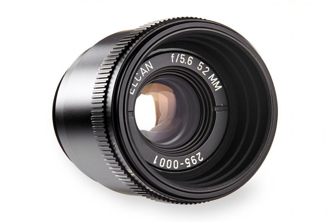 ELCAN 5.6/52mm UV Prototype lens *, c.1970, no.