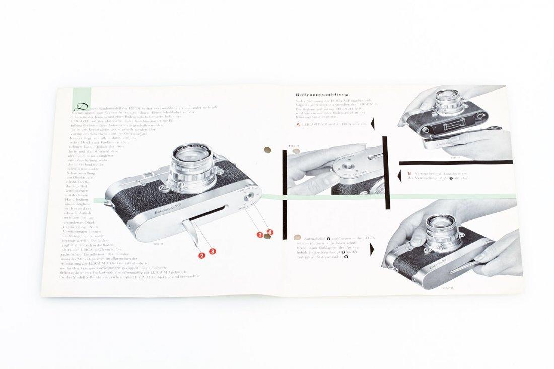 Leica M Literature, 1956/74 - 2