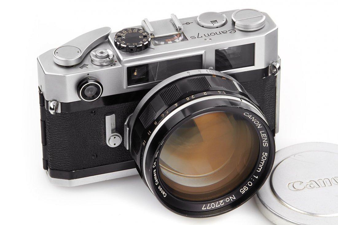 Canon 7s + 0.95/50mm, 1967, no. 118808
