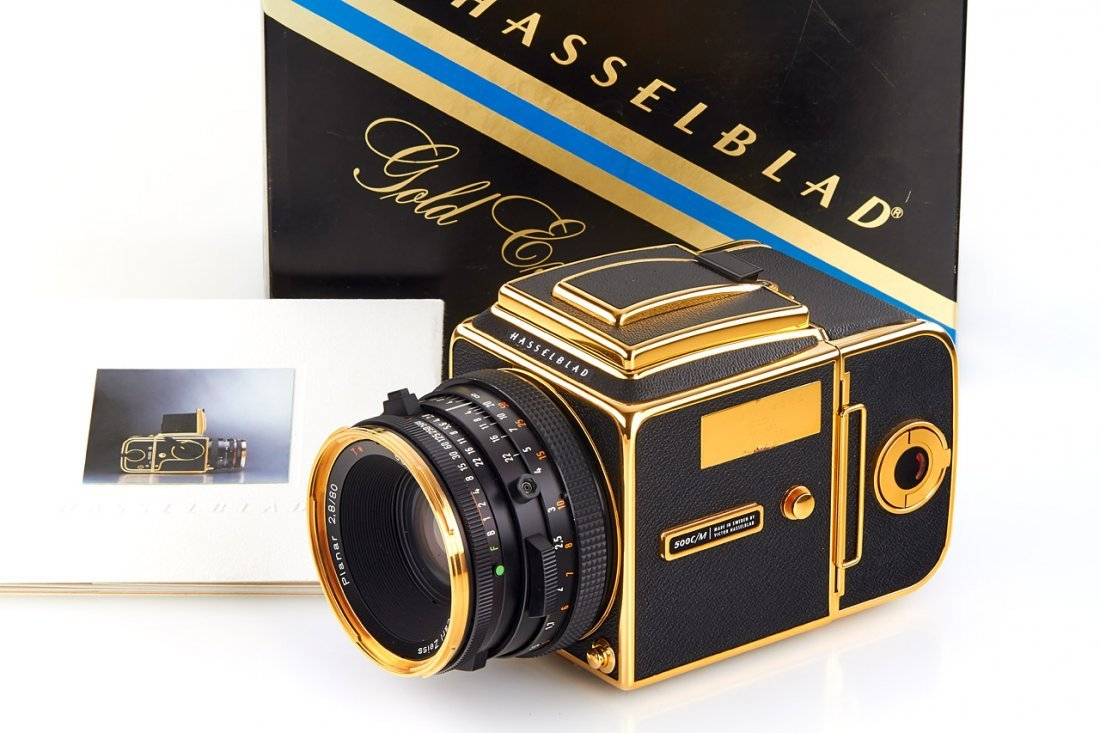 Hasselblad 500 C/M 'Gold Exclusive' *, 1987, no.