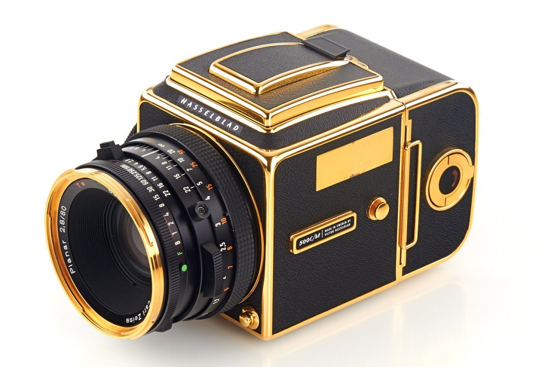 Hasselblad 500 C/M 'Gold Exclusive' *, 1987, no. - 2