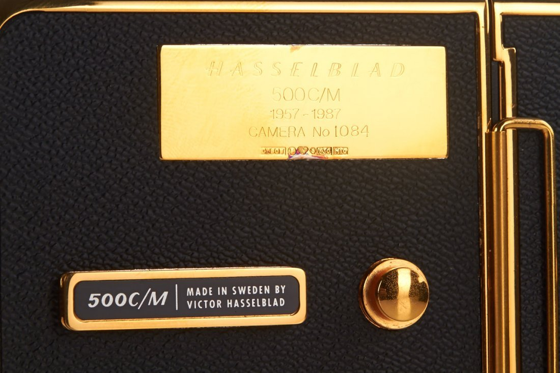 Hasselblad 500 C/M 'Gold Exclusive' *, 1987, no. - 3