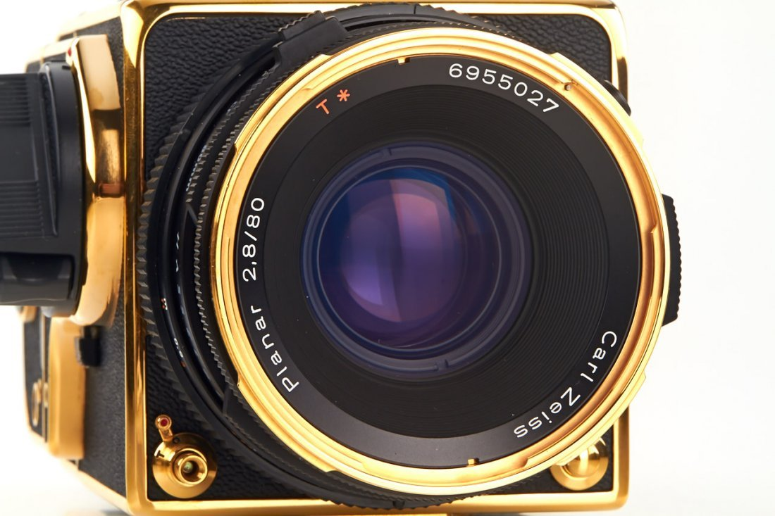 Hasselblad 500 C/M 'Gold Exclusive' *, 1987, no. - 4