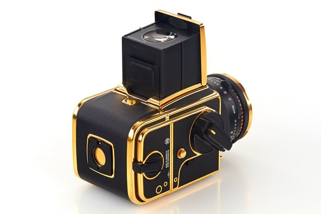 Hasselblad 500 C/M 'Gold Exclusive' *, 1987, no. - 5