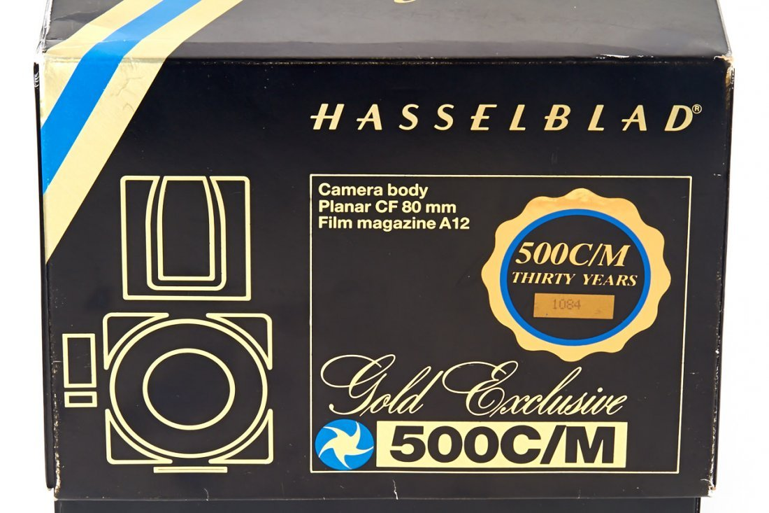 Hasselblad 500 C/M 'Gold Exclusive' *, 1987, no. - 7
