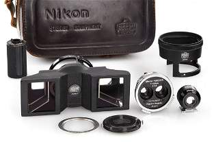 Stereo-NIKKOR 3.5/3.5cm outfit, 1956, no. 242057