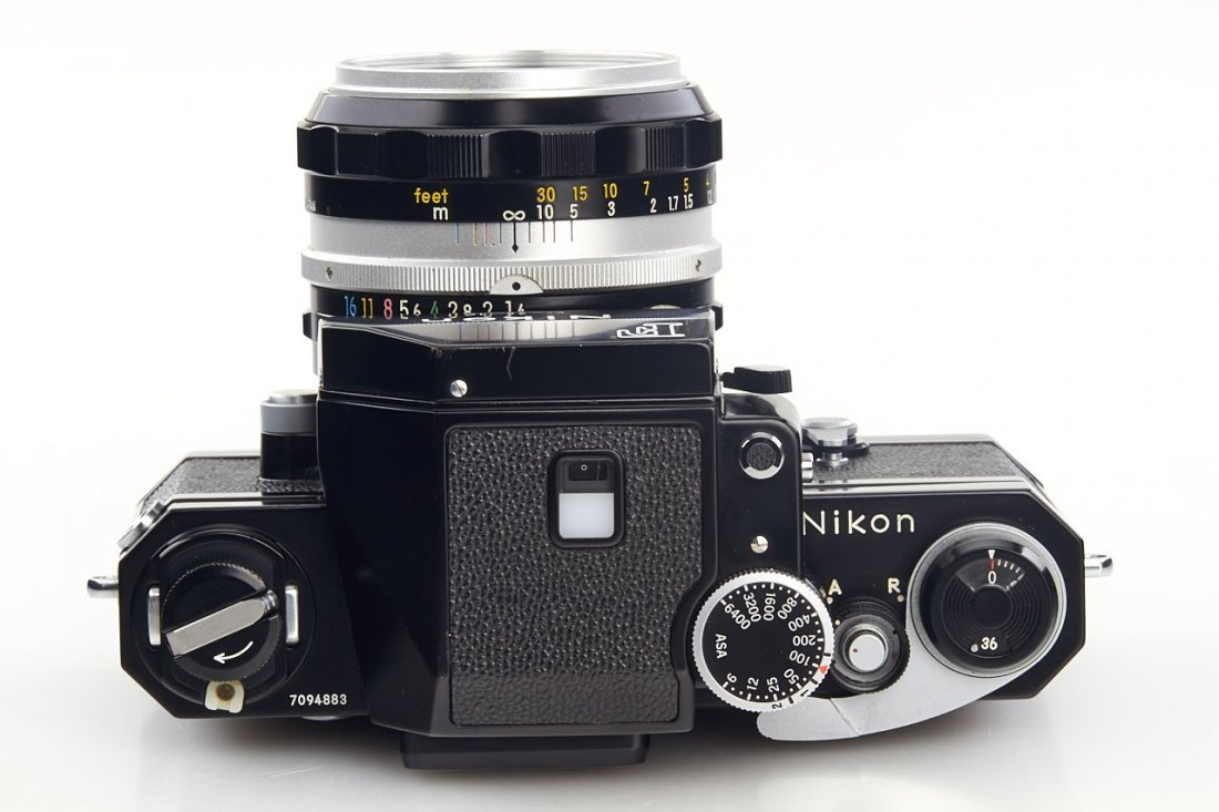 Nikon F black (various), 1965-70 - 9