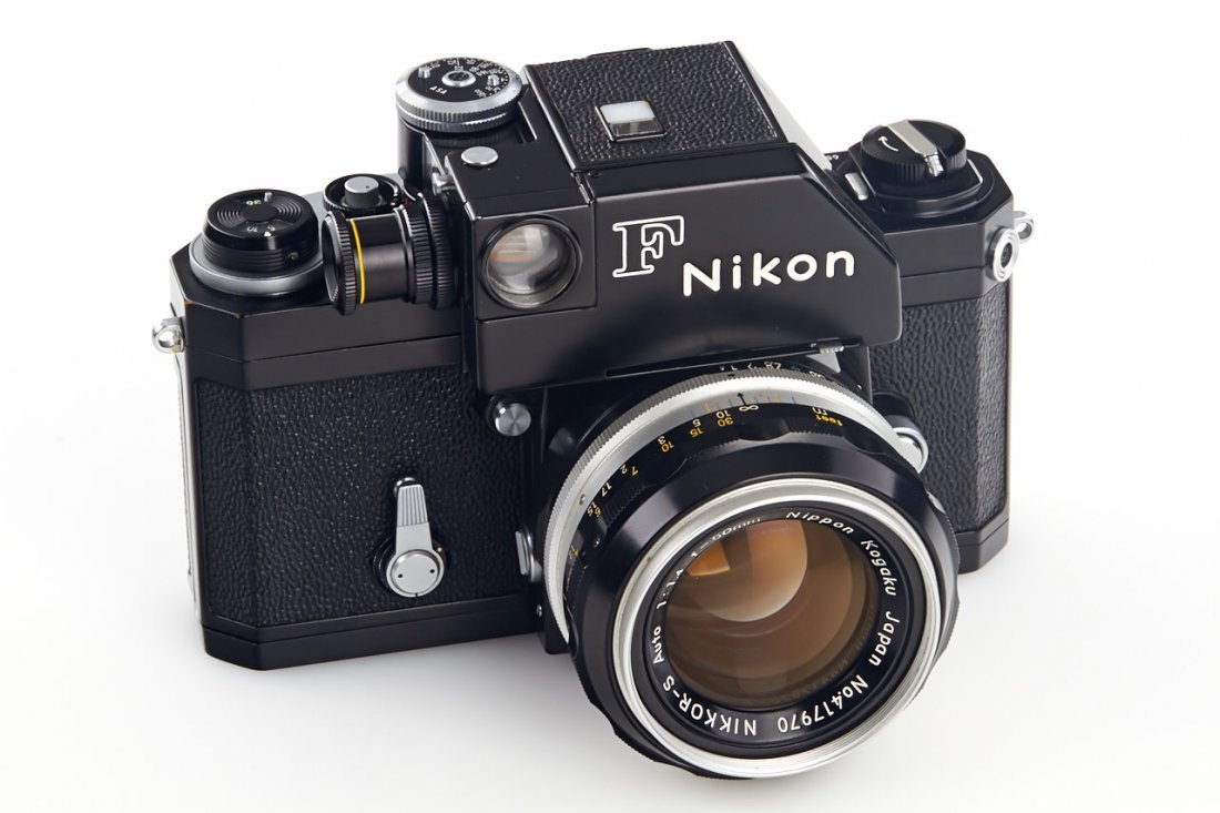 Nikon F black (various), 1965-70 - 2
