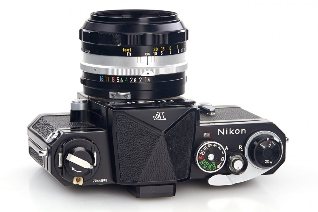 Nikon F black (various) - 9