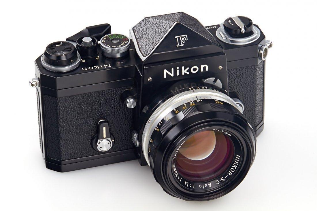 Nikon F black (various) - 2