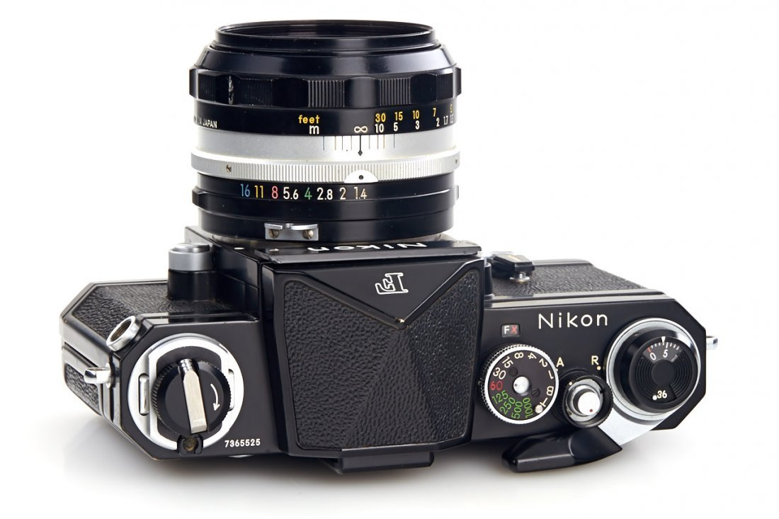 Nikon F black (various) - 5