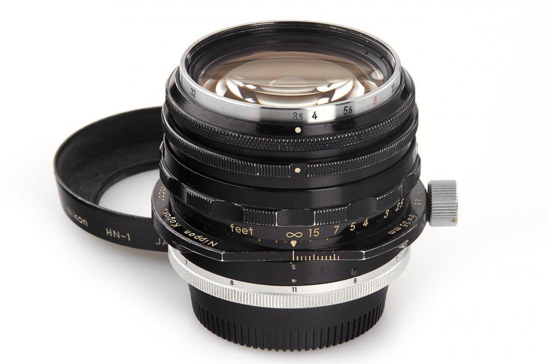 Nikon PC-Nikkor 3.5/35mm, 1965, no. 105468
