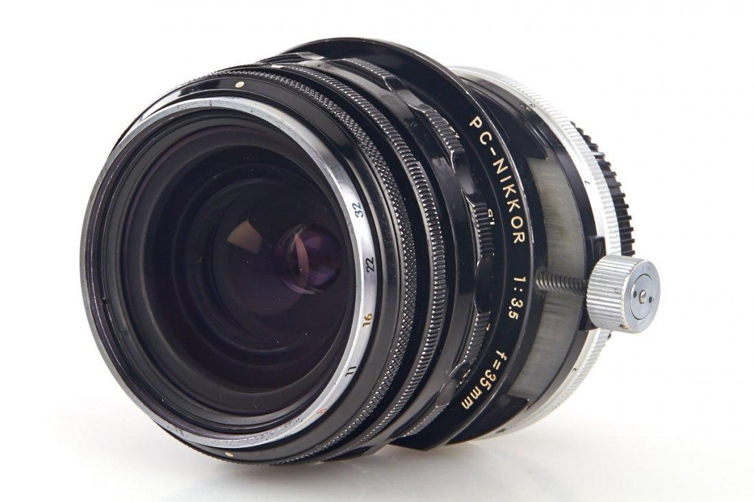 Nikon PC-Nikkor 3.5/35mm, 1965, no. 105468 - 3