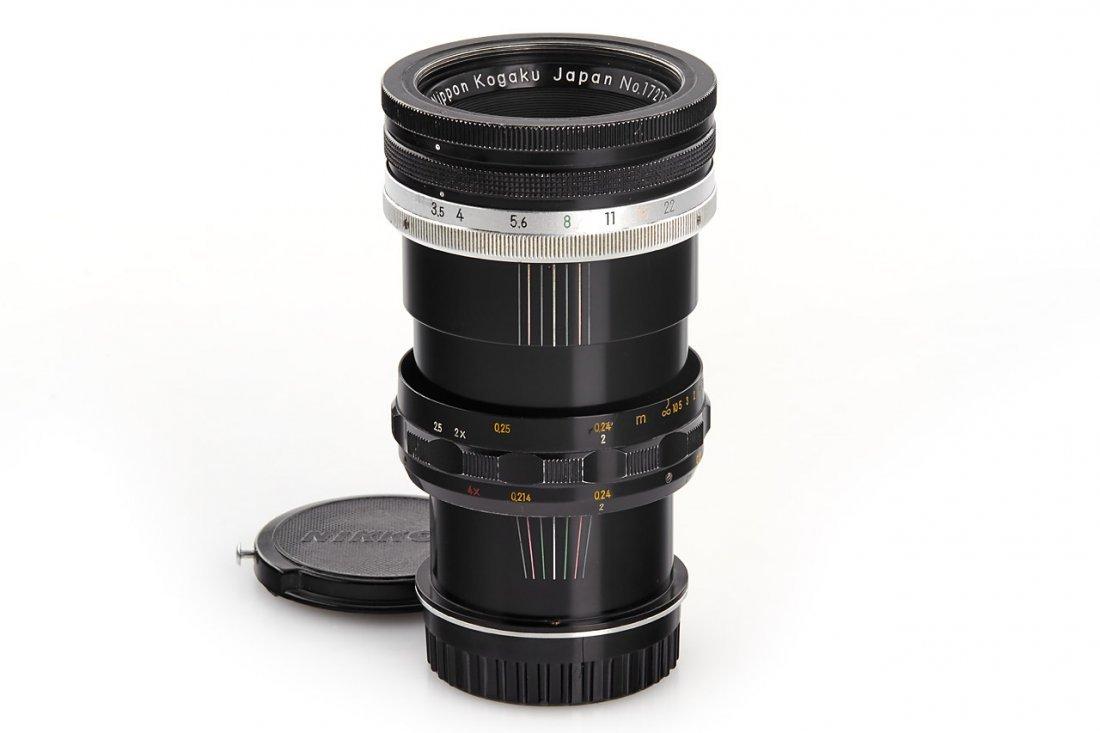 Nikon 3.5/5.5cm Micro-Nikkor, 1962, no. 172179