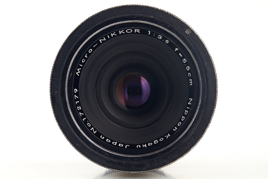 Nikon 3.5/5.5cm Micro-Nikkor, 1962, no. 172179 - 3