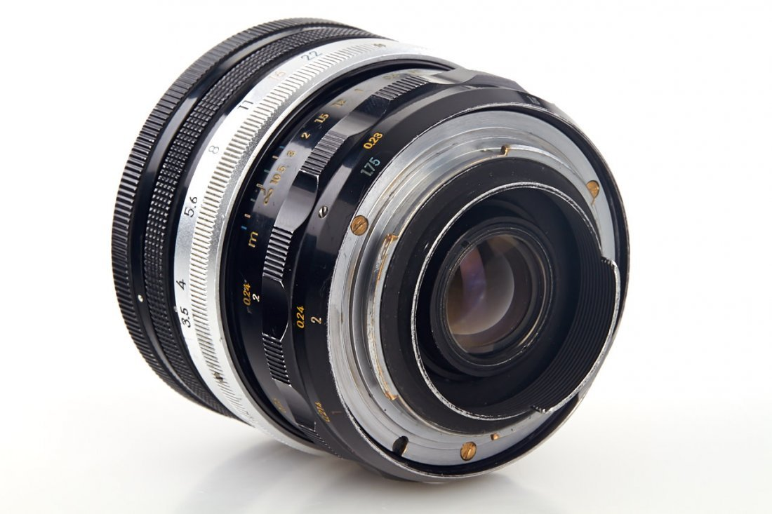 Nikon 3.5/5.5cm Micro-Nikkor, 1962, no. 172179 - 4