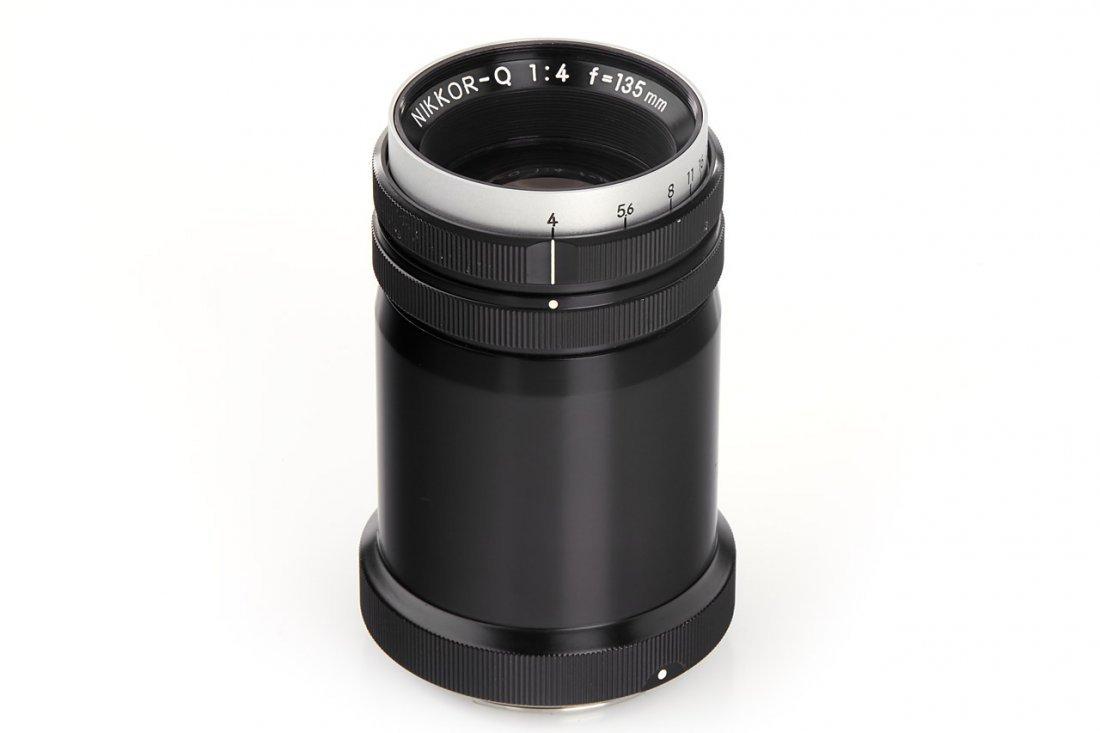 Nikon 4/135mm Nikkor-Q (Type 4 P), 1968, no. 580261
