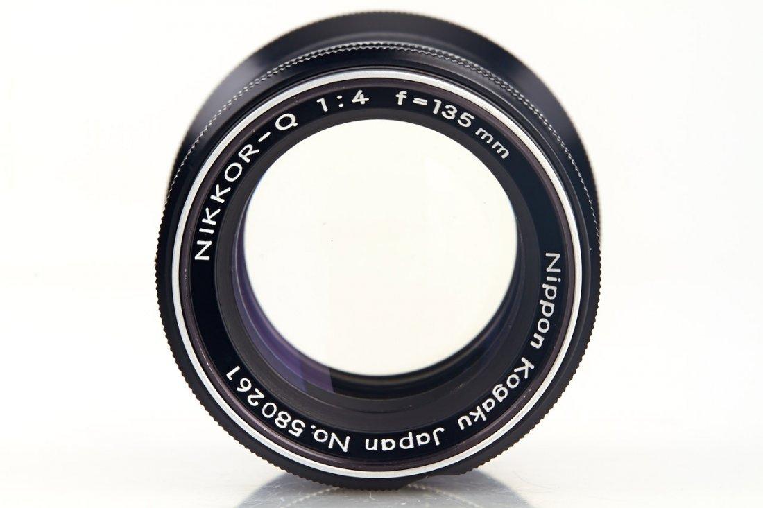 Nikon 4/135mm Nikkor-Q (Type 4 P), 1968, no. 580261 - 3