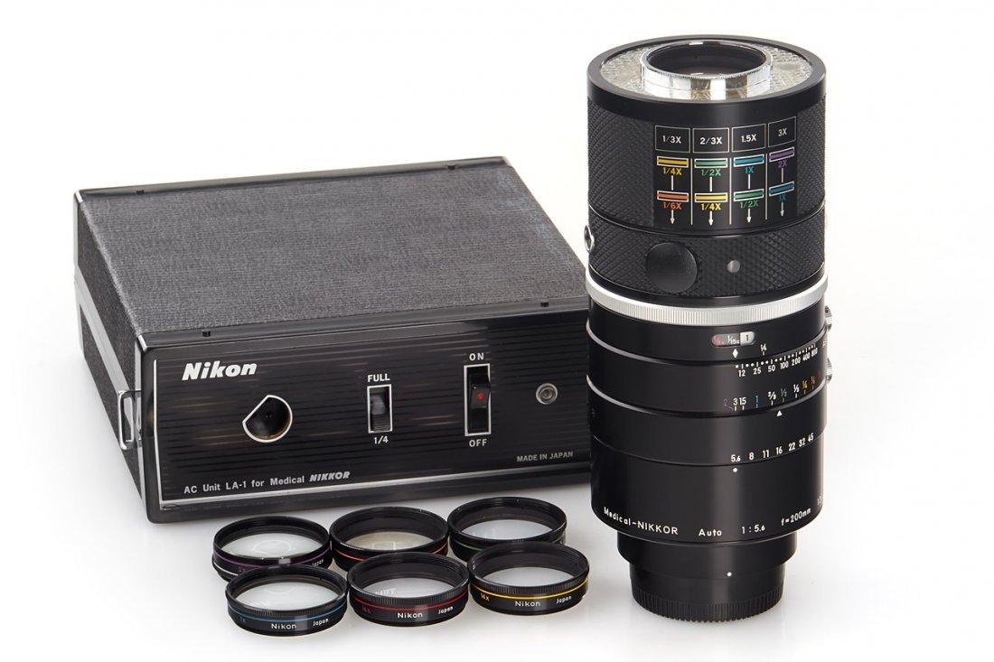 Nikon 5.6/200mm  Medical-Nikkor Auto, 1972, no. 120399