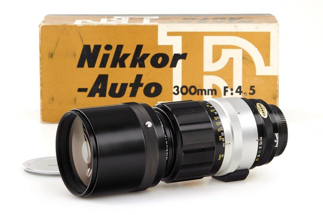 Nikon 4.5/300mm Nikkor-P Auto, 1966, no. 312654