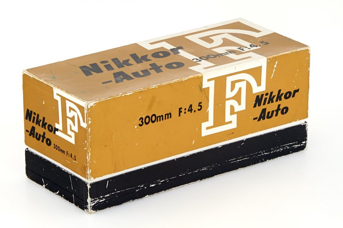 Nikon 4.5/300mm Nikkor-P Auto, 1966, no. 312654 - 6