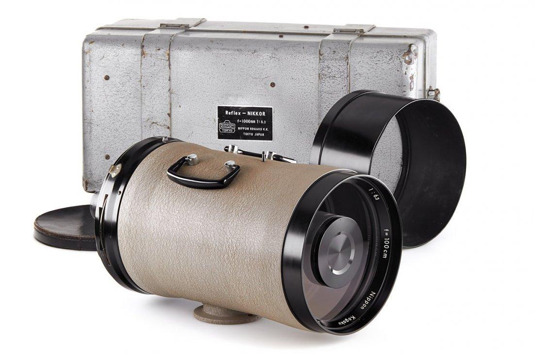 Nikon  6.3/100cm Reflex-Nikkor grey *, c.1959, no.